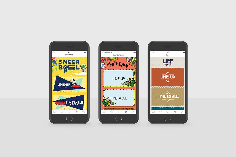 Woov app design