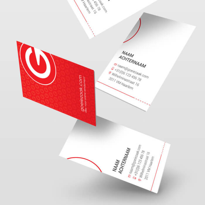 Goeiezaak Business Cards