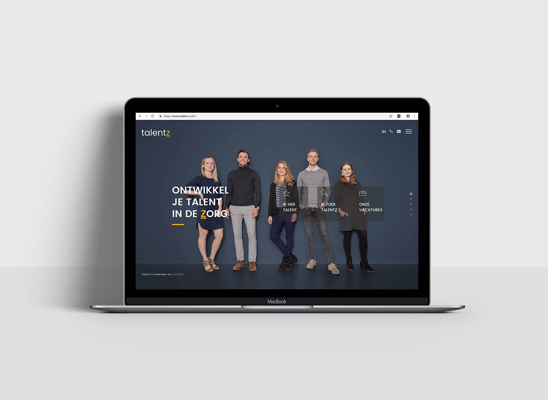 Talentz Website