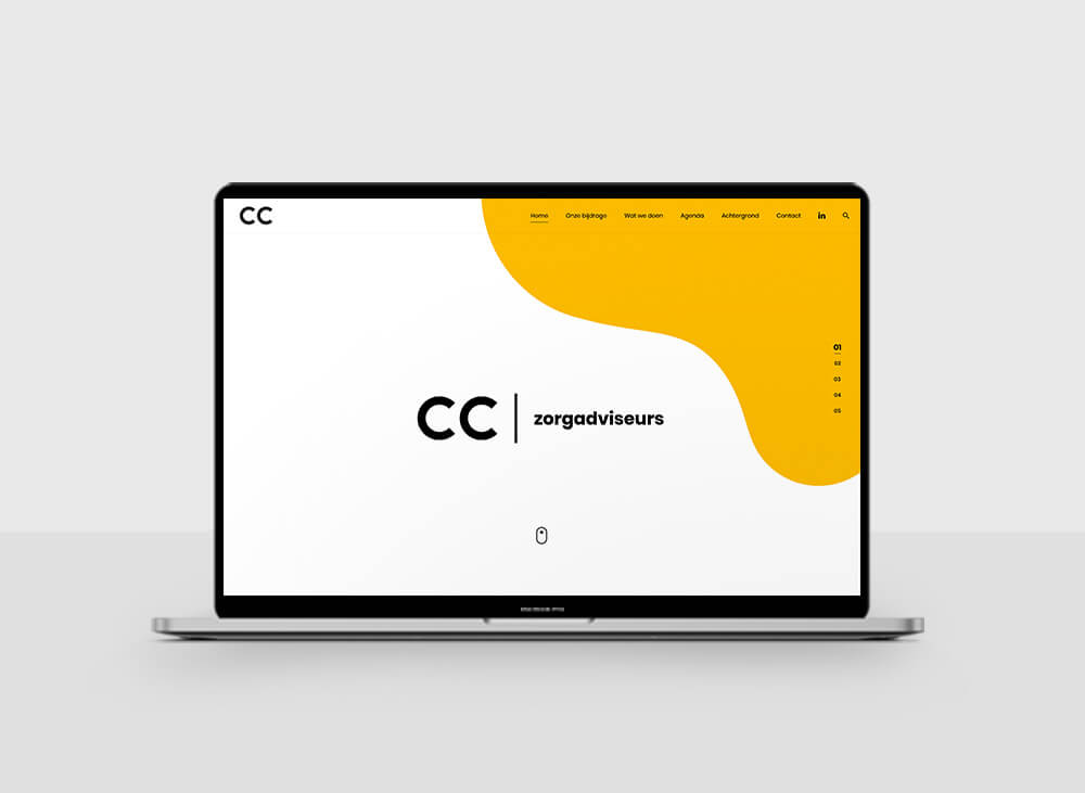 CC zorgadviseurs- Website